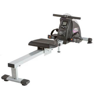 TecTake Rudergerät Ruderzugmaschine Fitnessgerät