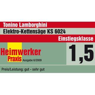 Tonino Lamborghini Elektro Kettensäge KS 6024