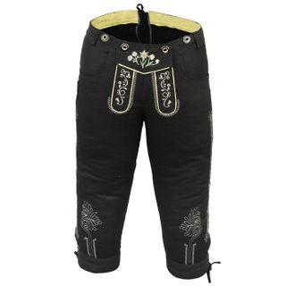 German Wear Damen Trachten Kniebundhose Jeans Hose kostüme