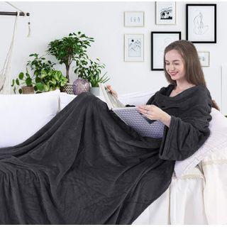 Snuggle Decke Mit ärmeln.Kuscheldecke Mit Armeln Test Und Vergleich Die Besten