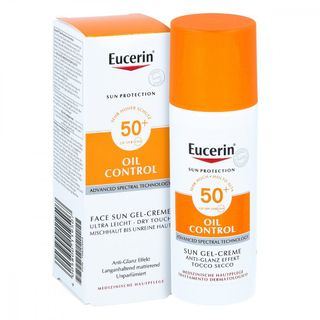 Eucerin Sun Gel-creme Oil Contr.anti-gl.eff.lsf50+ 50 ml