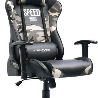 GTPLAYER Gaming Stuhl Bürostuhl Schreibtischstuhl PC Stuhl Kunstleder