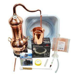 CopperGarden Destille Essence Plus 2 Liter Kolonnenbrennerei