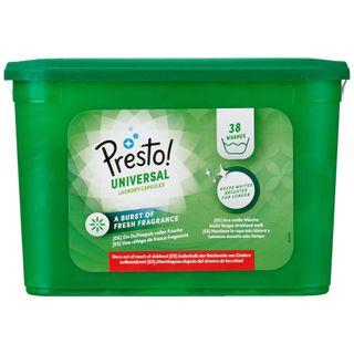 Amazon-Marke: Presto Pods Universal Waschmittel 152 Waschgänge