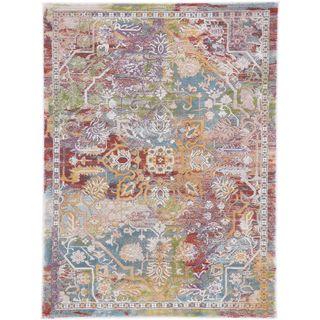 CarpetFine: Moderner Vintage Amara Teppich 160x230 cm Multicolor