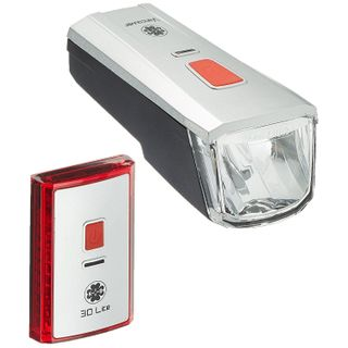 Büchel Batterieleuchtenset LED-AKKU Set-Leuchtturm Pro 40 Lux StVZO Zugelassen
