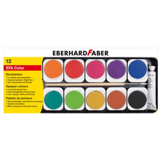 Eberhard Faber 578112 Deckfarbkasten EFA Color