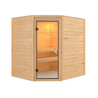 Massivholz Sauna Otava