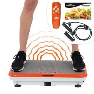 Mediashop Vibro Shaper Vibrationsplatte Ganzkörper Trainingsgerät