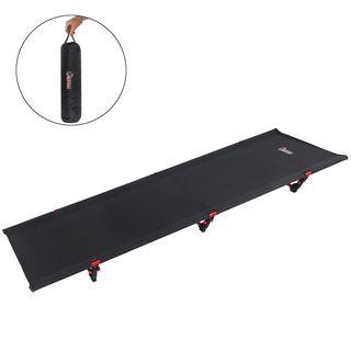 ALPIDEX Ultraleichtes Feldbett Campingbett belastbar bis 120 kg