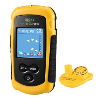 LUCKY Fischfinder Wireless Farbe Tragbarer Portable Angeln