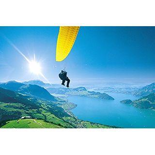 Geschenkgutschein: Gleitschirm Tandemflug Schweiz