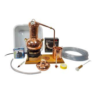 Copper Garden Tischdestille Arabia 2 Liter Sorgenfrei Paket