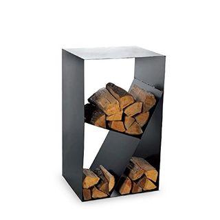Magnus Kaminholzregal Cube schwarz