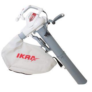 IKRA Elektro 3in1 Laubsauger Laubbläser Laubhäcksler ILS 3000 E