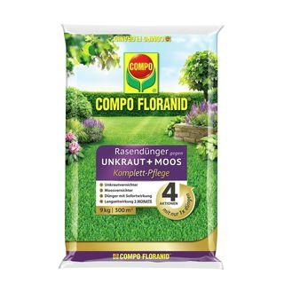 Compo Floranid Rasendünger gegen Unkraut+ Moos Komplett-Pflege