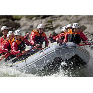 Jochen Schweizer Geschenkgutschein: Extrem-Rafting im Ötztal