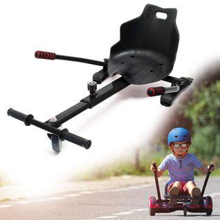 Wiltec Sitzscooter schwarz