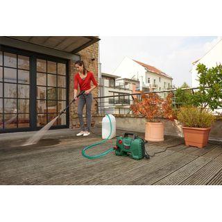 Bosch Hochdruckreiniger EasyAquatak 120 (3 x Düse, Hochdruckpistole, transparenter Wasserfilter, 5 m Kabel, 5 m Schlauch, Karton, 1500 Watt, Druck: 120 bar, max. Fördermenge: 350 l/h)