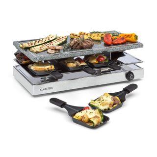 Klarstein Gourmette Raclette mit Naturstein-Platte