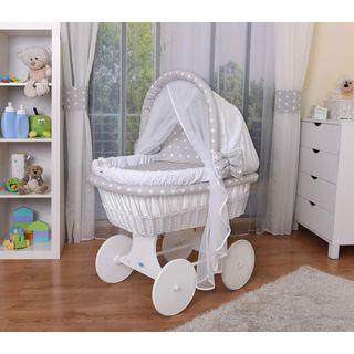 WALDIN Baby Stubenwagen-Set mit Ausstattung