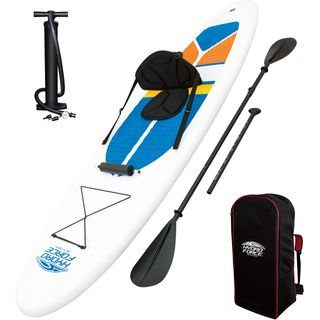 Bestway SUP White Cap Stand Up Paddle Board und Kajak Komplett-Set