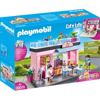 PLAYMOBIL 70015 City Life Mein Lieblingscafé