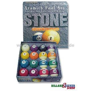 Pool-Ball-Satz 57,2 mm Stone Edition Aramith