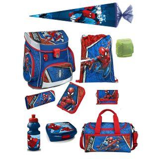 Familando Spiderman Schulranzen-Set 10-teilig