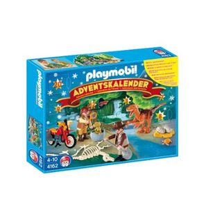 PLAYMOBIL 4162 Adventskalender Dino-Expedition
