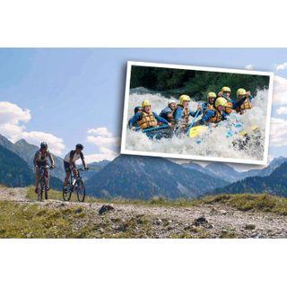 Jochen Schweizer Geschenkgutschein: Rafting & Mountainbiking