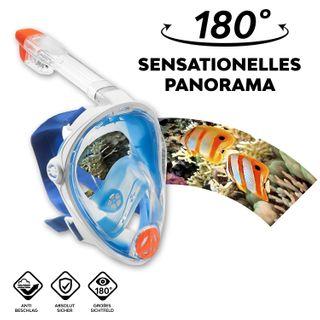 Aqua Lung Vollgesichts Schnorchelmaske