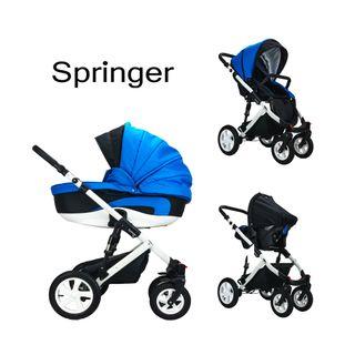 Springer CityPlus Kinderwagen 3 in 1 Kombikinderwagen