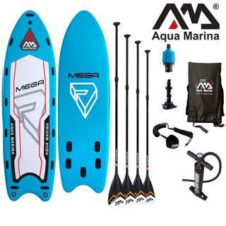 Aqua Marina Mega 550 x 152 x 20 cm aufblasbares SUP Board