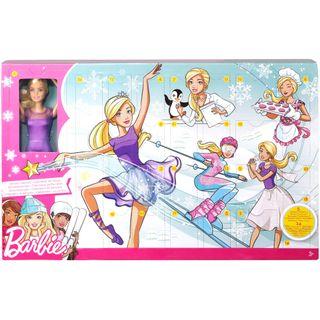 Barbie FTF92 Adventskalender 2018 Spielzeug Weihnachtskalender