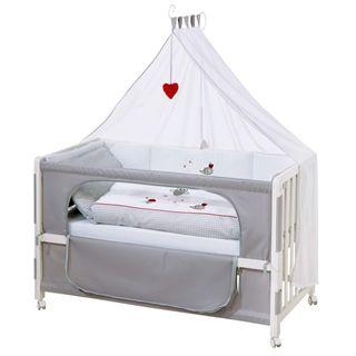 roba Roombed Babybett 60x120 cm 'Adam & Eule'