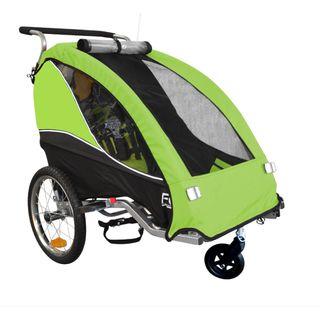 PAPILIOSHOP LEON Kinderanh/änger Fahrradanh/änger jogger von 1 oder 2 kinder