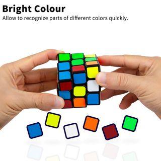 Buself Zauberwürfel Speed Cube 3X3 Magic Cube
