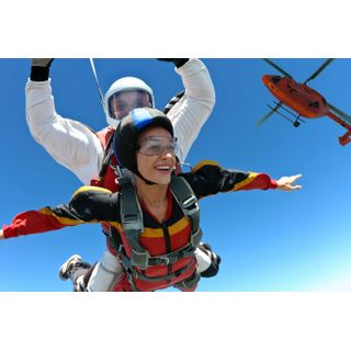Geschenkgutschein: Fallschirm Tandemsprung Schweiz