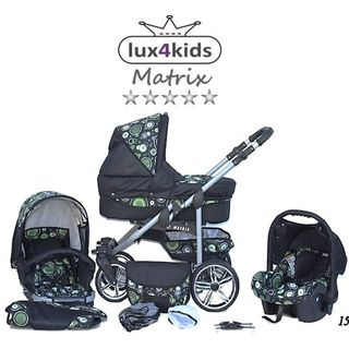 Chilly Kids Matrix II Kinderwagen Komplettset