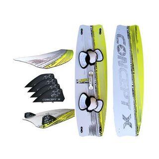 Concept X Kiteboard Ruler 135 x 41 komplett