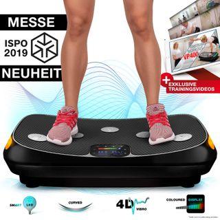 Sportstech Messe-Neuheit 2019 4D Vibrationsplatte