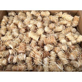 10 Kg Zündwolli Anzünder aus Holzwolle und Wachs Ofenanzünder Kaminanzünder