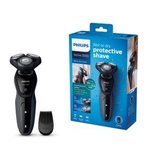 Philips Series 5000 Elektrischer Nass-und Trockenrasierer S5270/06