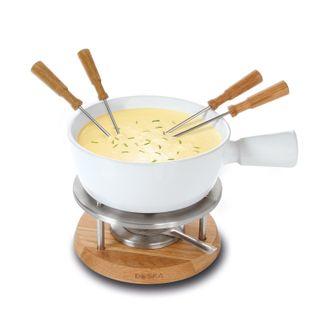 BOSKA Käse Fondue-Set Bianco in weiß