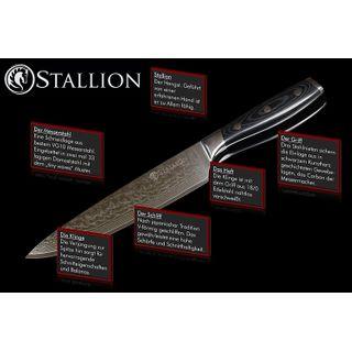 Stallion Damastmesser