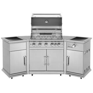 Justus Gasgrill-Küche Poseidon