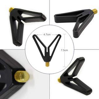 Rutenauflagen Tasche CarpON Rod Pod Rutenhalter Aluminium Deluxe f/ür 4 Ruten inkl
