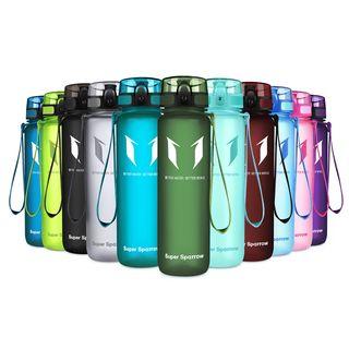 Super Sparrow Trinkflasche Sports Wasserflasche 1L